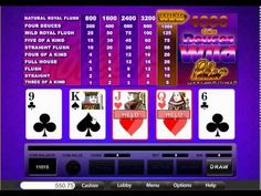 USA Mobile Deuces Wild Video Poker from Treasure Mile
