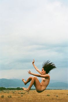darksilenceinsuburbia: Ryan McGinley.Ann (Slingshot), 2007. this will forever be not only my favorite shot by mcginley, but one of my most very favorite photos. ever. by anyone.
