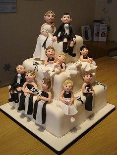 I love cake art!