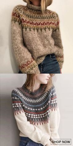 Bohemian Sweater Casual comfy sweater for women, warm and beautiful design you will need in autumn and winter, easy to match withe your shirt and blouses. Sweater Outfits, Cute Outfits, Mode Boho, Winter Mode, Winter Coats Women, Cardigans For Women, Pulls, Fashion Outfits, Womens Fashion