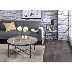 Shop for Acme Furniture Bage Weathered Grey Oak Coffee and End Table Set and more for everyday discount prices at Overstock.com - Your Online Furniture Store!