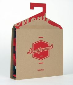 packaging and hanger