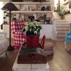 "cherry hill cottagefarmhouse on Instagram: "" coffee & Christmas music """