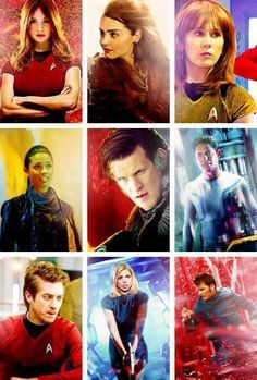 Crossover: Star trek & Doctor who