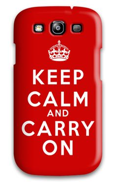 Keep Calm - Keep Calm & Carry On Red