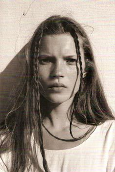 Kate Moss young the Face 1990 COrinne Day