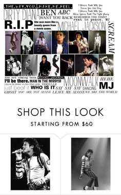 """MICHAEL JACKSON R.I.P"" by madi-quartermaine ❤ liked on Polyvore featuring Sony and P. Michael"