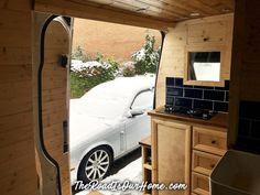 Vanlife Van Conversion: A brief overview of our Mercedes Sprinter self-build campervan. Self Build Campervan, Best Campervan, Campervan Ideas, Van Conversion Layout, Camper Van Conversion Diy, Mercedes Sprinter Camper, Sprinter Van, Converted Vans, Campervan Interior