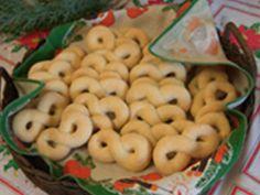 Norwegian Kringle Cookies