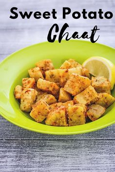 Sweet potato chaat recipe for vrat or Hindu fasting - It is made from boiled sweet potato and flavored with few spices. In Hindi it is called shakarkandi chaat recipe. Sweet potato itself is filling to the stomach. So during the vrat days, having this as a snack will keep you full for next few hours. Navratri Recipes, Chaat Recipe, Red Chili Powder, Food Festival, Chili Recipes, Vegetable Recipes, Indian Food Recipes, Sweet Potato, Spices