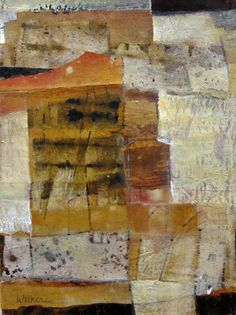 Touch of Gold 5 Mixed Media on Paper