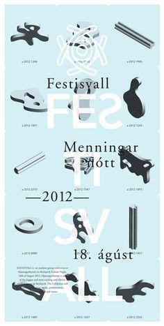 """Geir Olafsson """"Festisvall annual art festival in Reykjavik"""""""