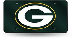 $24.99 - Football Fan Shop Laser-Engraved Green License Plate - Green Bay Packers - Laser-Engraved Green License Plate — Green Bay Packers Show your team spirit wherever you go. Cruising around town, rooting for the home team, it's all the same with this novelty license plate.
