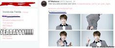 Completed Jungkook's Day!! Worldwide 1st trending topics | allkpop Meme Center
