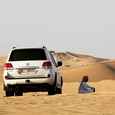Language has created the word loneliness to express the pain of being alone and the word solitude to express the glory of being alone - Paul Tillich  #abudhabi #emirates #exploreemirates #exploreabudhabi #visitabudhabi #visitemirates #instagood #travel #sand #desert #safaridesert #car #bluesky #clearsky #creme #sanddunes #alone #traveling #travelgram