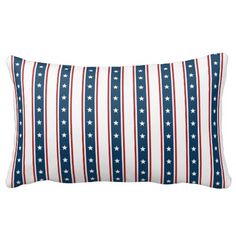 American Patriotic Stars and Stripes Pattern