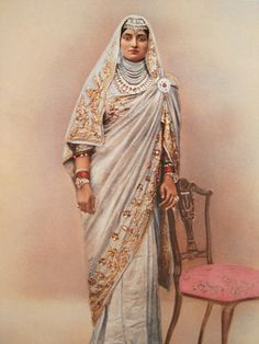 Local fashion: Jewelry and dress of the Maharajahs of India Military Costumes, Royal Indian, Traditional Indian Jewellery, The Royal Collection, Vintage India, Vintage Bollywood, Desi Clothes, Brown Girl, Indian Outfits