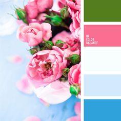 celeste contrastante y rosado, celeste y rosado, combinación contrastante, elección del color, rosado, rosado y celeste, selección de colores, tonos celestes, tonos contrastantes.
