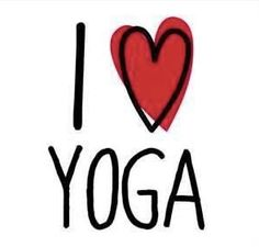 Ich liebe Yoga ❤