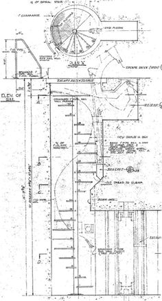 Titan I - Epitaph ++ Entry Portal ++ Construction Drawings, Stairways, Portal, Spiral Staircases, How To Plan, Google Search, Math, Stairs, Building Plans