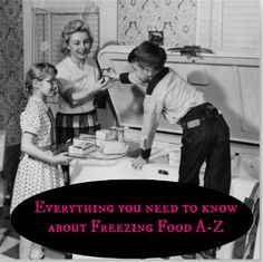 freezing food tips