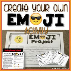 The Techie Teacher: Create Your Own EMOJI