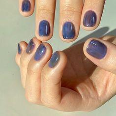 diy nails at home Minimalist Nails, French Nails, Cute Nails, Pretty Nails, Hair And Nails, My Nails, Nail Art Vernis, Nails Kylie Jenner, Lavender Nails