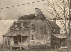 John Ogle's House, formerly at Ogletown Delaware from Sueogle1 on Ancestry.com