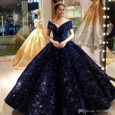 Burgundy Sweet 16 Masquerade Quinceanera Dresses 2018 Off Shoulder Ball Gown Vintage Lace Sequined Plus Size Vestidos Ball Gown Dresses, 15 Dresses, Pretty Dresses, Beautiful Dresses, Prom Gowns, Cheap Dresses, Poofy Prom Dresses, Blue Ball Gowns, Blue Gown
