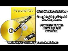 PowerISO 6.8 With Serial key Free Download [Latest]