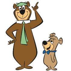 Yogi Bear & Boo-Boo - Saturday morning cartoons!