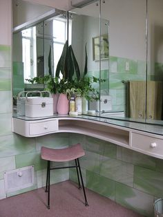 Bathroom - love the counter!!
