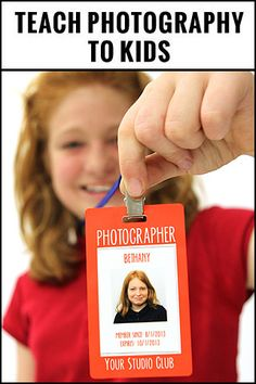 Teach photography to kids with this pre-written curriculum including lesson plans, activity sheets, instructor notes, matching powerpoint, photographer badge and more! Purchase yours today! http://www.magazinemama.com/collections/templates-for-teaching/products/basic-digital-photography-for-kids-course-curriculum-bundle