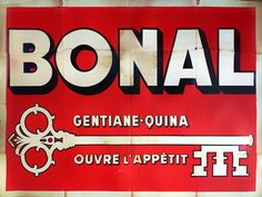 Bonal - Gentiane-Quina ouvre l'appétit - 1939 -