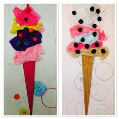 Kim & Karen: 2 Soul Sisters (Art Education Blog): Ice Cream, Tom Hanks, and Shimmy, Shimmy Ko Ko Pop