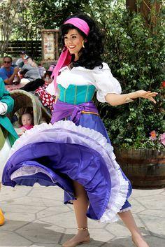 31 best esmeralda costume images on pinterest esmeralda costume awesome photo of esmeralda giving her lovely dress a twirl long lost friends week solutioingenieria Images