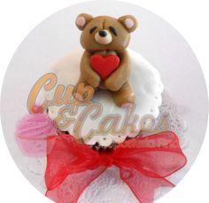 Cupcake con osito