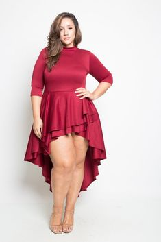 9d790cc40ae 40 Delightful Valentines Day Red Plus size outfits and Accessories ...
