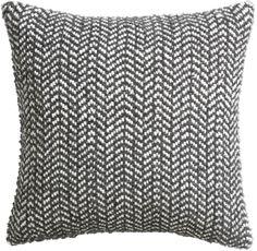 optical chevron pillow with down-alternative insert Fall Pillows, Throw Pillows, Pillow Dress, Triangle Art, Leather Pillow, Colorado Homes, Modern Room, New Furniture, Pillow Inserts