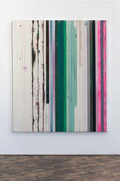 nicecollection:  Dejan Dukic - Storage Painting Nr.14, 200cm x 169cm, Wood, Canvas, Acryl, Fluid Pigment and Oil, 2012