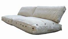 loungekussen zit- en ruggedeelte