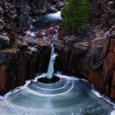 Waterfall wonders in Arizona: Sycamore Canyon, west of Flagstaff