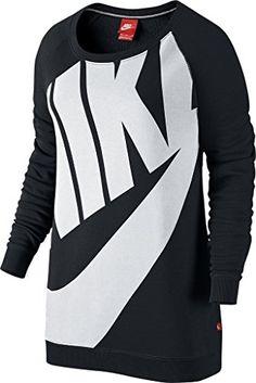 Nike womens NIKE RALLY BF CREW EXPLODED 726041-010_S - BLACK/WHITE Nike http://www.amazon.com/dp/B010ON42QK/ref=cm_sw_r_pi_dp_X5RSwb1NSG53E