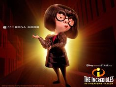 WWW DISNEY,S CARTOON FILM THE  INCREDIBLES PIN IT | The Incredibles Edna Mode Wallpaper,