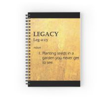 Hamilton: Legacy Spiral Notebook