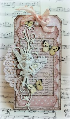 inkido: Two Butterfly Tags