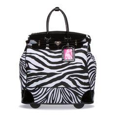 Black & White Travel Bag.