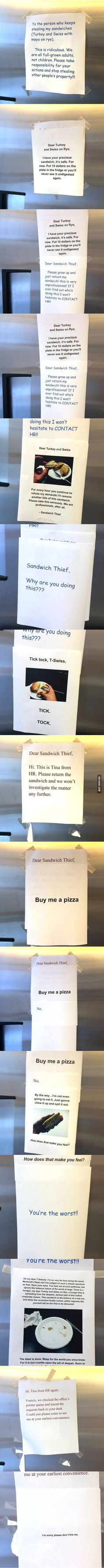 Epic!!!!!.....Sandwich Thief Stories