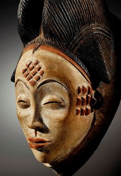 Masque Punu, Gabon.