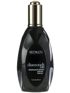 Redken Diamond Oil Shatterproof Shine Intense blends coriander, camelina, coconut, and apricot oils to defrizz and enhance shine